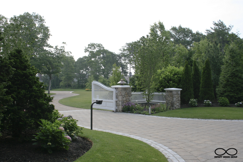 MA Garden and Planting, and Hardscape Design: Osterville