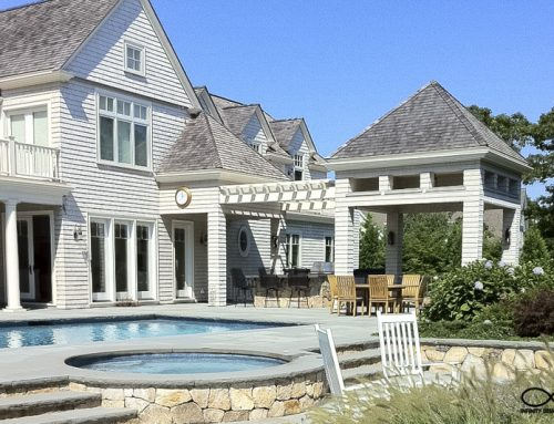 Hardscape and Pool & Spa Design: New Seabury, Massachusetts