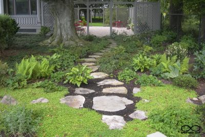 Rhode Island Garden and Planting, and Hardscape Design: Newport