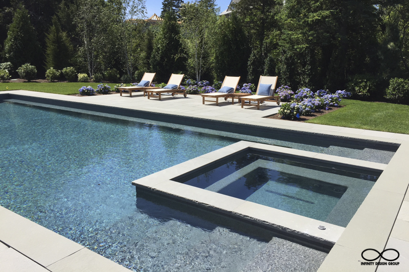 Pool & Spa, Garden & Planting Design: Watch Hill, Rhode Island